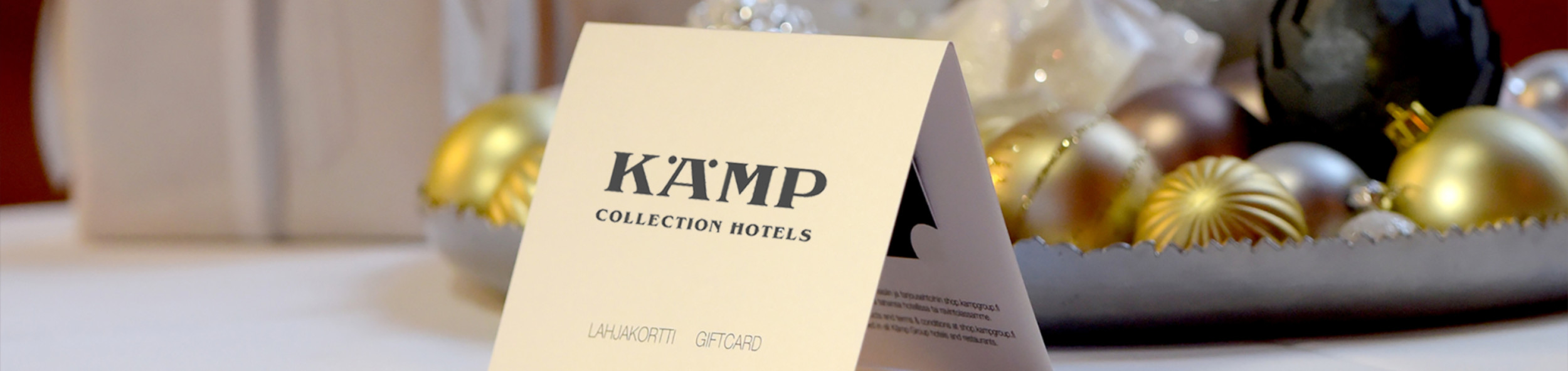 Kämp Collection Hotels Lahjakortti
