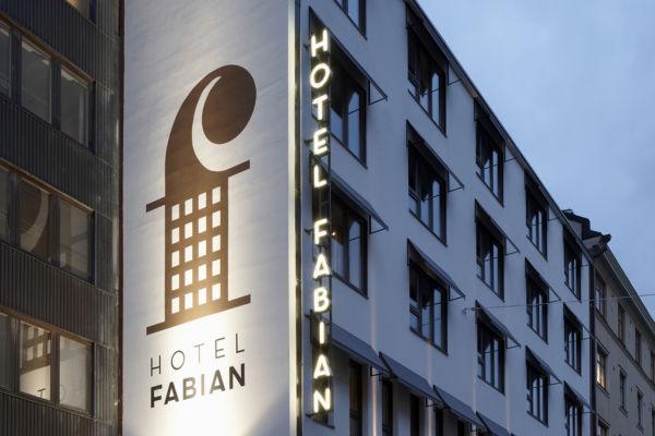 Kodikas boutique hotelli Kauppatorin läheisyydessä Fabianinkadulla.